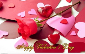Happy-Valentine's-Day-Wishes-Rose-Bud-Wallpaper