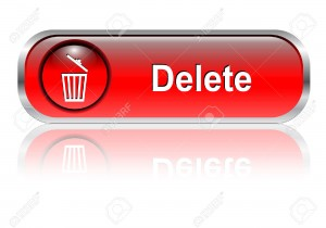 6425730-Delete-button-icon-red-glossy-with-shadow-Stock-Vector